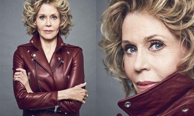 Jane Fonda fala sobre abuso sexual e a importância do apoio entre mulheres