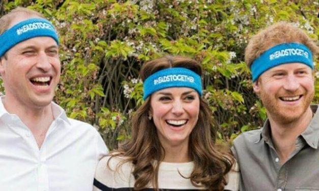 Conversar faz bem, dizem Príncipe William, Kate Middleton e príncipe Harry